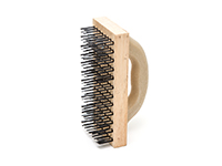 Flat Wire Block Brush With Handle