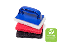 Hand Size Utility Pads With Holder & Replacement Pads